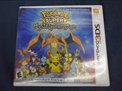 POKEMON SUPER MYSTERY DUNGEON, 3DS GAME